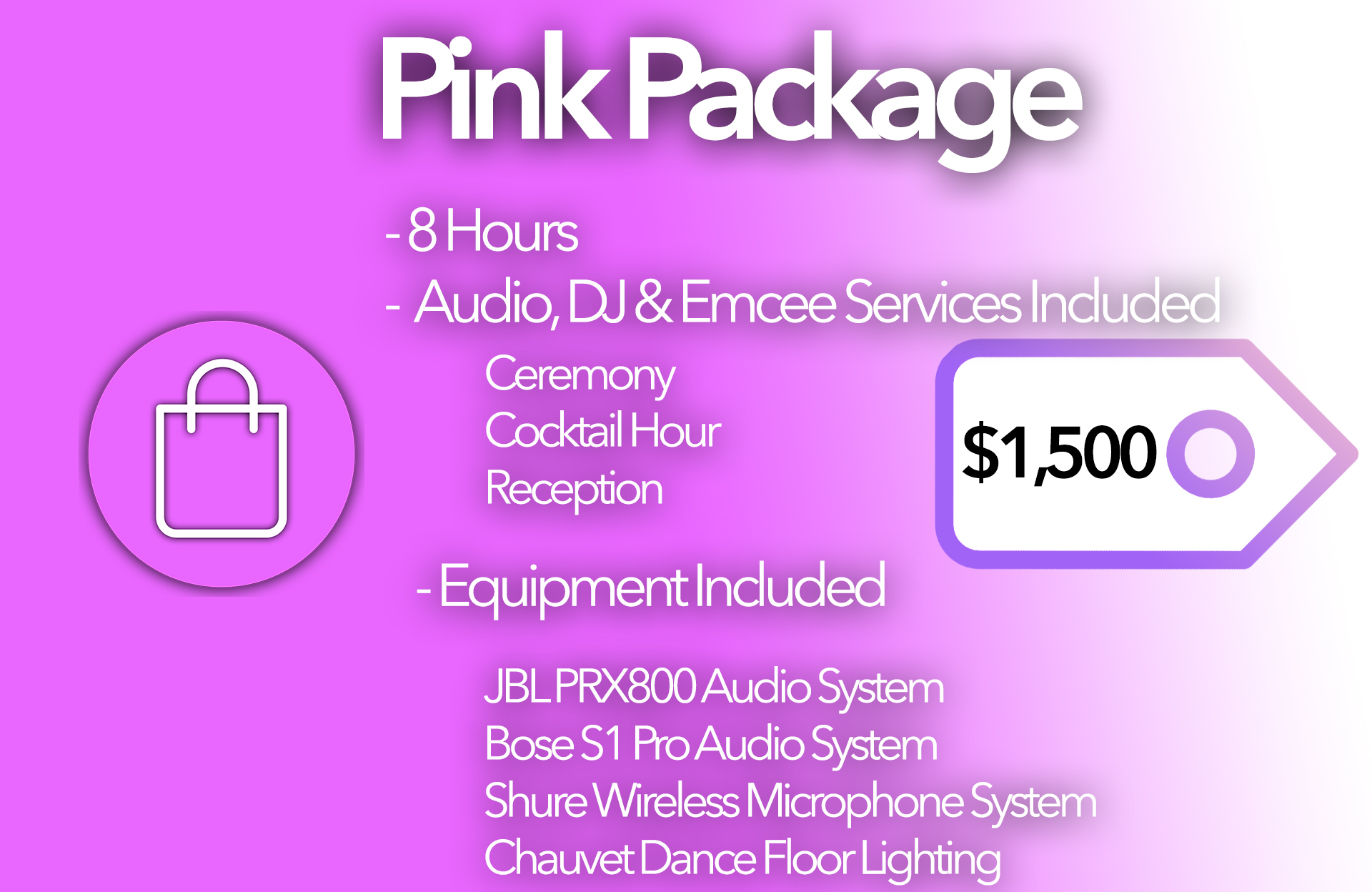 Pink Package Card