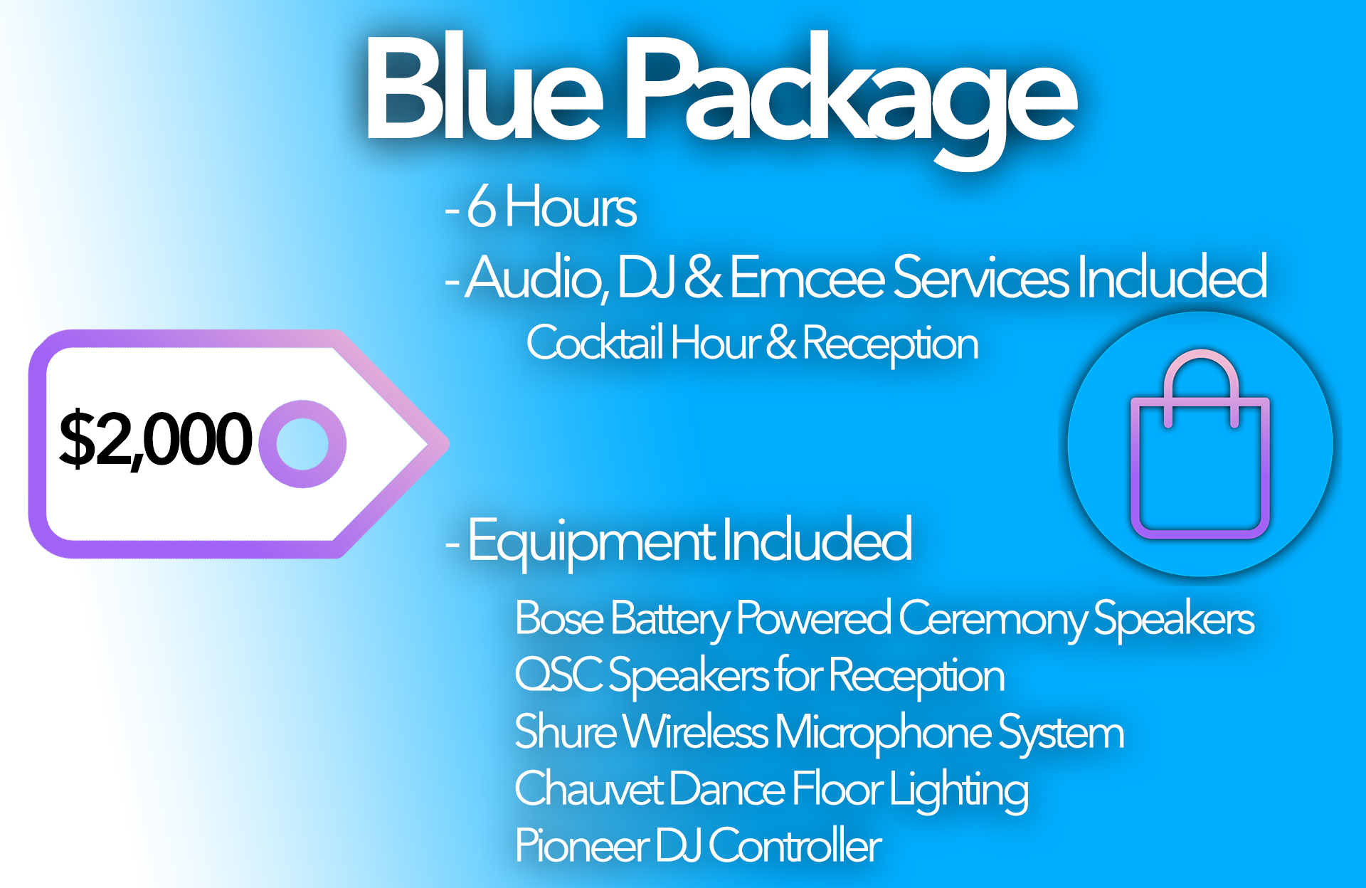 Blue Package Card 2023