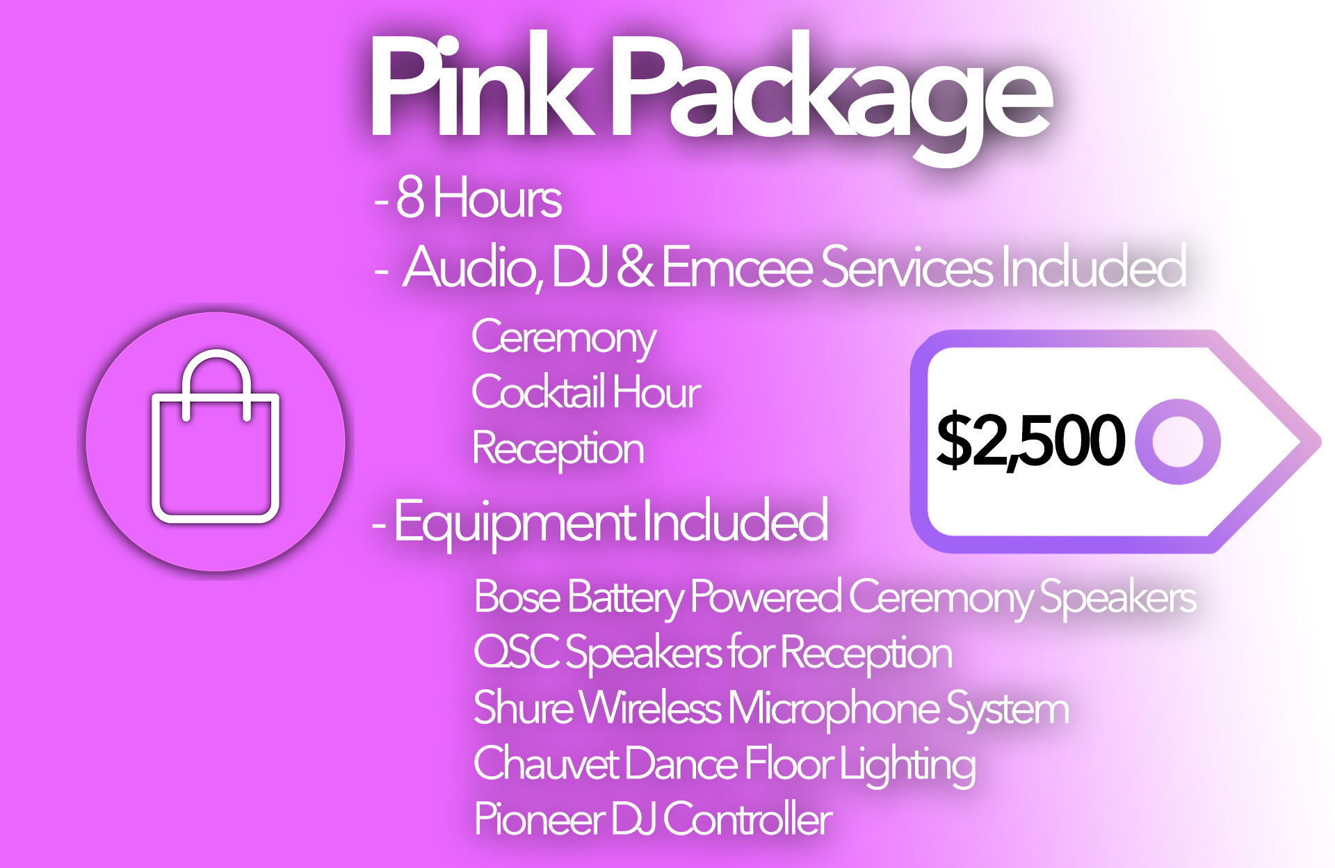 Pink Package Card 2023